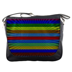 Pattern Background Messenger Bags