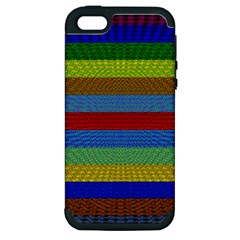 Pattern Background Apple Iphone 5 Hardshell Case (pc+silicone)