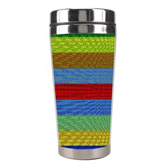 Pattern Background Stainless Steel Travel Tumblers