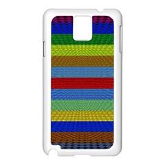 Pattern Background Samsung Galaxy Note 3 N9005 Case (white)