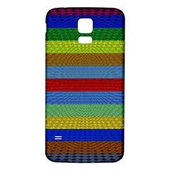 Pattern Background Samsung Galaxy S5 Back Case (White)
