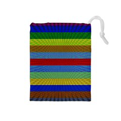 Pattern Background Drawstring Pouches (medium)