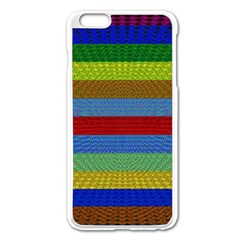 Pattern Background Apple Iphone 6 Plus/6s Plus Enamel White Case
