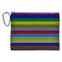Pattern Background Canvas Cosmetic Bag (xxl)
