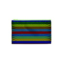 Pattern Background Cosmetic Bag (xs)