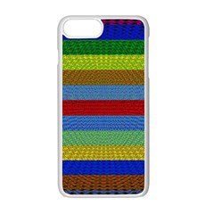 Pattern Background Apple Iphone 7 Plus White Seamless Case