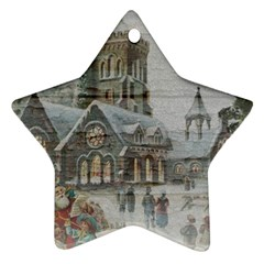 Santa Claus Nicholas Ornament (star)