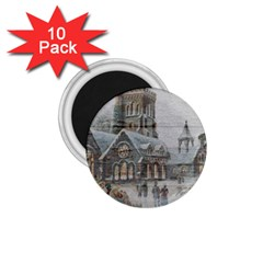 Santa Claus Nicholas 1 75  Magnets (10 Pack)
