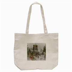 Santa Claus Nicholas Tote Bag (cream)