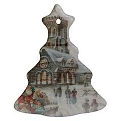 Santa Claus Nicholas Christmas Tree Ornament (2 Sides)