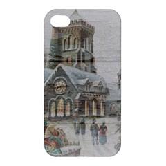 Santa Claus Nicholas Apple Iphone 4/4s Premium Hardshell Case