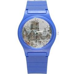 Santa Claus Nicholas Round Plastic Sport Watch (s)
