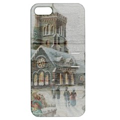 Santa Claus Nicholas Apple Iphone 5 Hardshell Case With Stand