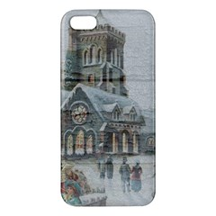 Santa Claus Nicholas Apple Iphone 5 Premium Hardshell Case