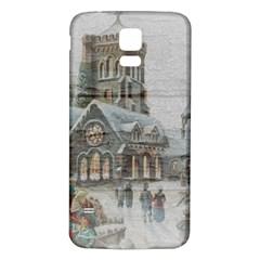 Santa Claus Nicholas Samsung Galaxy S5 Back Case (white)