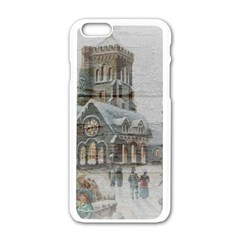 Santa Claus Nicholas Apple Iphone 6/6s White Enamel Case