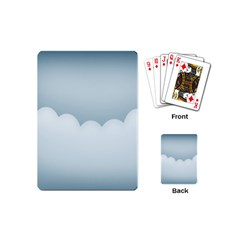 Soft Pure Backgrounds Playing Cards (mini)