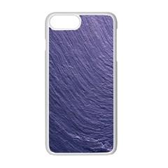 Textura Stone Apple Iphone 7 Plus White Seamless Case