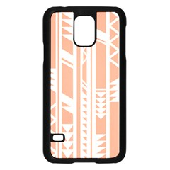 Tribal Pattern Samsung Galaxy S5 Case (black)