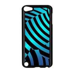 Turtle Swimming Black Blue Sea Apple iPod Touch 5 Case (Black)