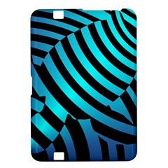 Turtle Swimming Black Blue Sea Kindle Fire HD 8.9