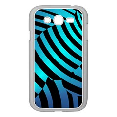 Turtle Swimming Black Blue Sea Samsung Galaxy Grand DUOS I9082 Case (White)
