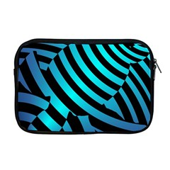 Turtle Swimming Black Blue Sea Apple MacBook Pro 17  Zipper Case