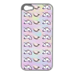 Tumblr Unicorns Apple Iphone 5 Case (silver)