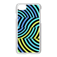 Twin Tunnels Visual Illusion Casino Art Apple Iphone 7 Seamless Case (white)