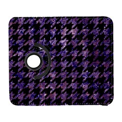 Houndstooth1 Black Marble & Purple Marble Samsung Galaxy S  Iii Flip 360 Case