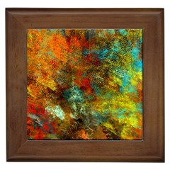 Mixed Abstract Framed Tiles