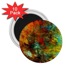 Mixed Abstract 2 25  Magnets (10 Pack)