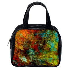 Mixed Abstract Classic Handbags (One Side)