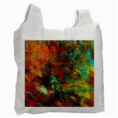 Mixed Abstract Recycle Bag (One Side)