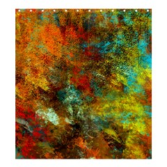 Mixed Abstract Shower Curtain 66  X 72  (large)