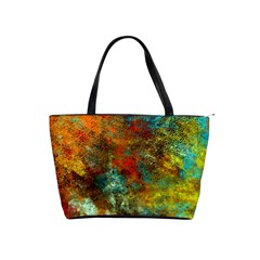 Mixed Abstract Shoulder Handbags
