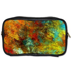 Mixed Abstract Toiletries Bags 2 Side