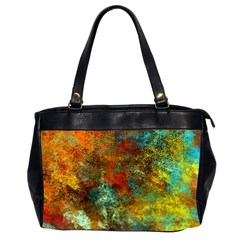Mixed Abstract Office Handbags (2 Sides)