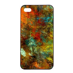 Mixed Abstract Apple Iphone 4/4s Seamless Case (black)
