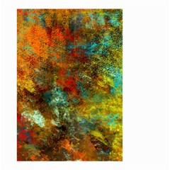 Mixed Abstract Small Garden Flag (two Sides)