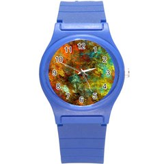 Mixed Abstract Round Plastic Sport Watch (s)