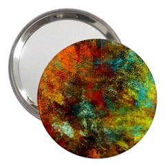 Mixed Abstract 3  Handbag Mirrors