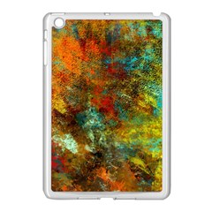 Mixed Abstract Apple iPad Mini Case (White)