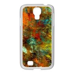 Mixed Abstract Samsung Galaxy S4 I9500/ I9505 Case (white)