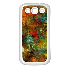 Mixed Abstract Samsung Galaxy S3 Back Case (white)