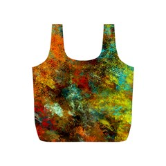 Mixed Abstract Full Print Recycle Bags (S)