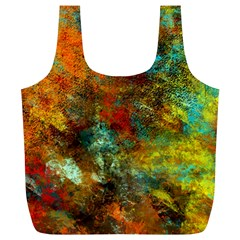 Mixed Abstract Full Print Recycle Bags (l)