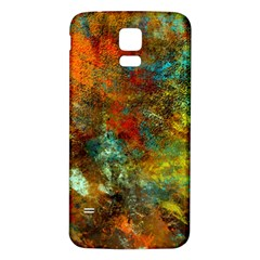 Mixed Abstract Samsung Galaxy S5 Back Case (white)