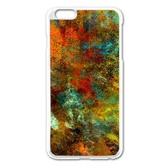 Mixed Abstract Apple Iphone 6 Plus/6s Plus Enamel White Case