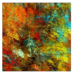 Mixed Abstract Large Satin Scarf (square)